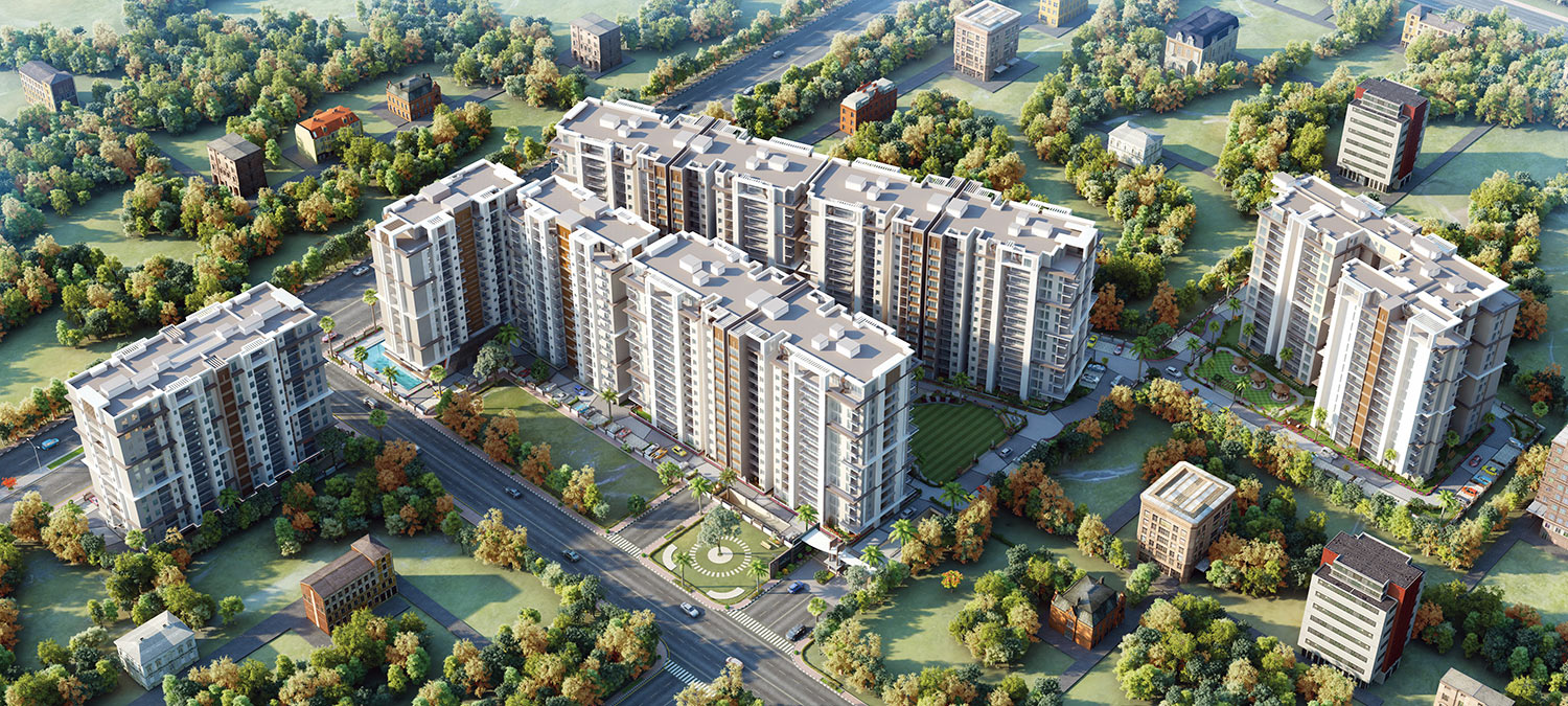 2 BHK Apartment - Hyde Park - 1114 Sq ft